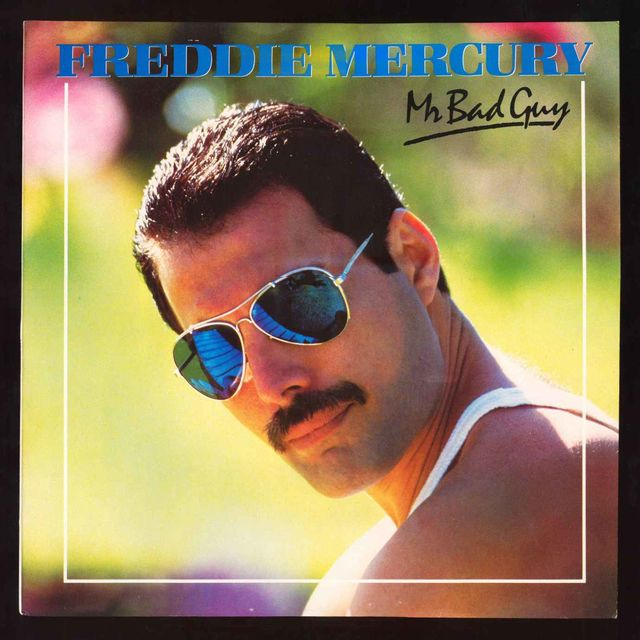 Cover of Freddie Mercury's solo album.
